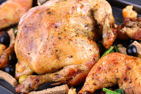 دجاج مشوي مثل المطاعم  في 30 دقيقة - وصفة 2020